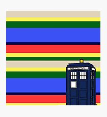 Tom Bakers TARDIS Photographic Print