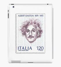 Postage Stamp Genius:  Albert Einstein iPad Case/Skin