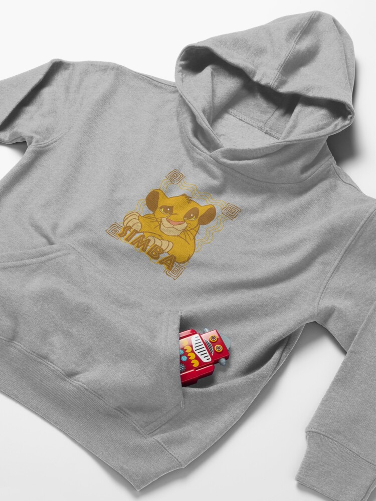 Alternate view of Simba Cub - The Lion King Kids Pullover Hoodie