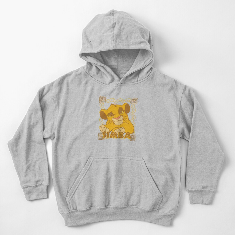 Simba Cub - The Lion King Kids Pullover Hoodie