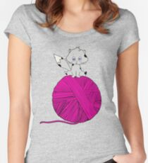 Yarn Women's Fitted Scoop T-Shirt