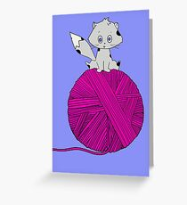 Yarn Greeting Card