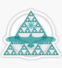 Eagle Rising - Turquoise Sticker