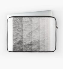 Black and White Ocean Breeze Laptop Sleeve