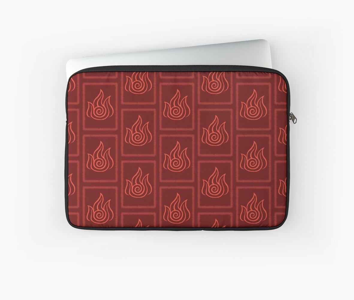 Avatar the last airbender fire nation symbol laptop sleeves by avatar the last airbender fire nation symbol by angelghosty buycottarizona
