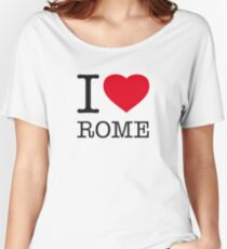 I ♥ ROME Women's Relaxed Fit T-Shirt