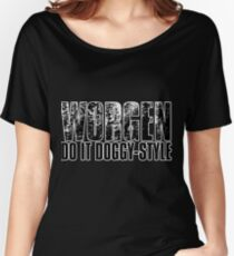 Worgen Do It Doggy-Style Women's Relaxed Fit T-Shirt