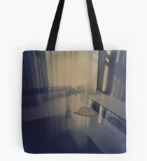 Love heart on table - Hasselblad 500cm hand made darkroom color print Tote Bag
