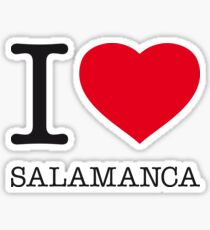 I ♥ SALAMANCA Sticker