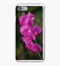 Sweet Pea Flower iPhone Case/Skin