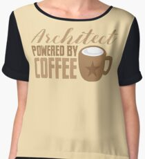 Architect powered by coffee Chiffon Top