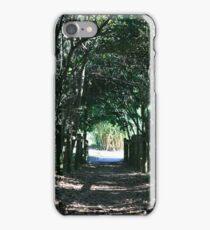 Seaside  Foliage Tunnel iPhone Case/Skin