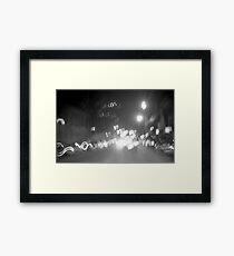 Night Rush Framed Print