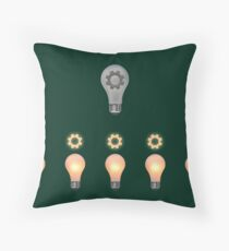 Teamwork concept Throw Pillow
