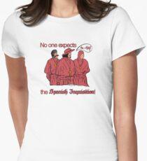 Wer erwartet die spanische Inquisition? Tailliertes T-Shirt