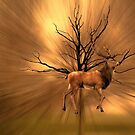 Golden Stag by shalisa