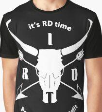 ItsRDtime white logo Graphic T-Shirt