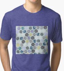 Quilt Vibe-Free Circles Tri-blend T-Shirt
