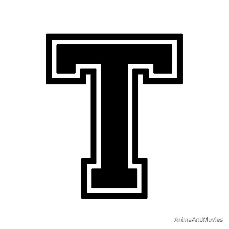 Letter T Titan Northeastfitness Co