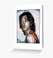 Mick Jagger Greeting Card