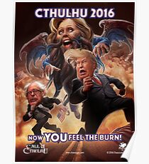 Now YOU feel the BURN! (Cthillary) Poster