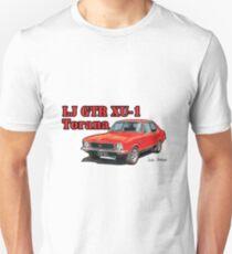 Holden XU1 LJ Torana in Red Slim Fit T-Shirt