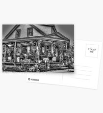 Antiques & Whimsy Monochrome Postcards