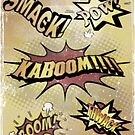 BOOM POW KABOOM!!!! by BluAlien