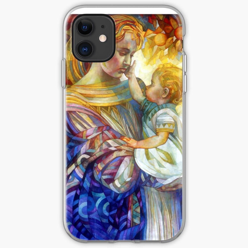 the madam of oriental persimmon with cherub iPhone Case & Cover