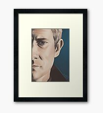 You're Not Haunted By The War Framed Print