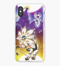 Pokemon - Solgaleo and Lunala iPhone Case
