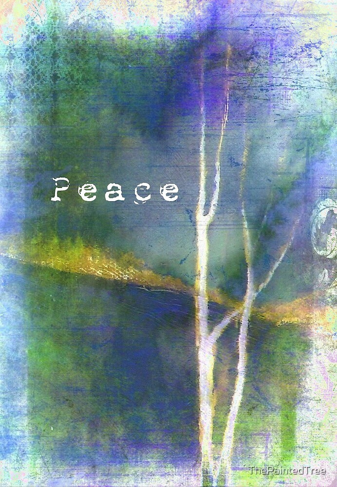 Peace Landscape Painting by ThePaintedTree