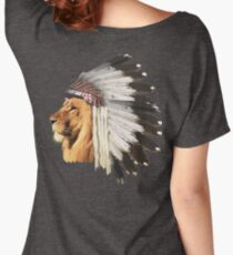 Lion Chief Women's Relaxed Fit T-Shirt