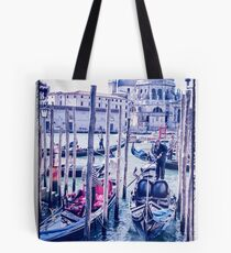 Venice shades of blue  Tote Bag