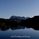 Loch Drumbeg by Alexander Mcrobbie-Munro