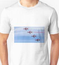 Red Arrows in Flight Unisex T-Shirt