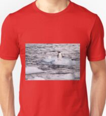 Gentoo penguins (Pygoscelis papua) on Danco Island  Unisex T-Shirt