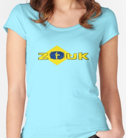 brasilianisches ZOUK Women's Fitted Scoop T-Shirt