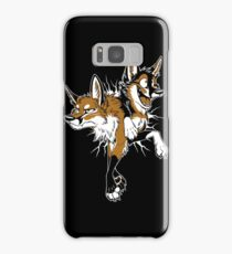 STUCK Foxes (red) Samsung Galaxy Case/Skin