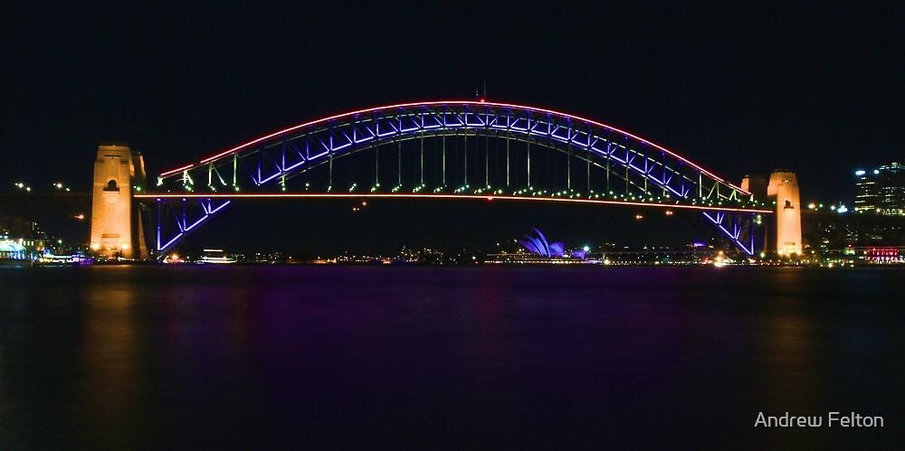 Coloured Bridge by Andrew Felton