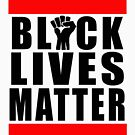 Power Fist Black Lives Matter by Thelittlelord