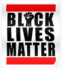 Power Fist Black Lives Matter Poster