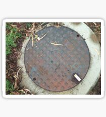 ACO Sewer Manhole Cover Sticker