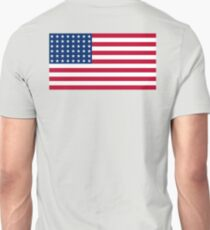 WAR FLAG, AMERICAN, Stars & Stripes, US Flag, 48 stars. Used 47 years, July 4, 1912, to July 3, 1959. Unisex T-Shirt