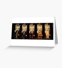 Who is the Doctor?  Costumes Greeting Card