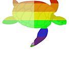 Love U Tees Funny Rainbow Animals Turtle LGBT Pride Week Swag, Unique Rainbow Gifts by LoveUTees