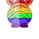 Love U Tees Funny Rainbow Animals Zebra LGBT Pride Week Swag, Unique Rainbow Gifts by LoveUTees