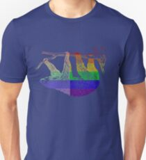 Love U Tees Funny Rainbow Animals Sloth LGBT Pride Week Swag, Unique Rainbow Gifts T-Shirt