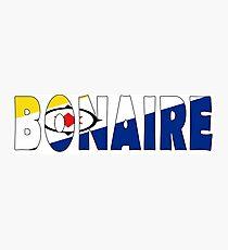 Bonaire Photographic Print