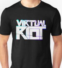 Virtueller Aufstand Merch Slim Fit T-Shirt